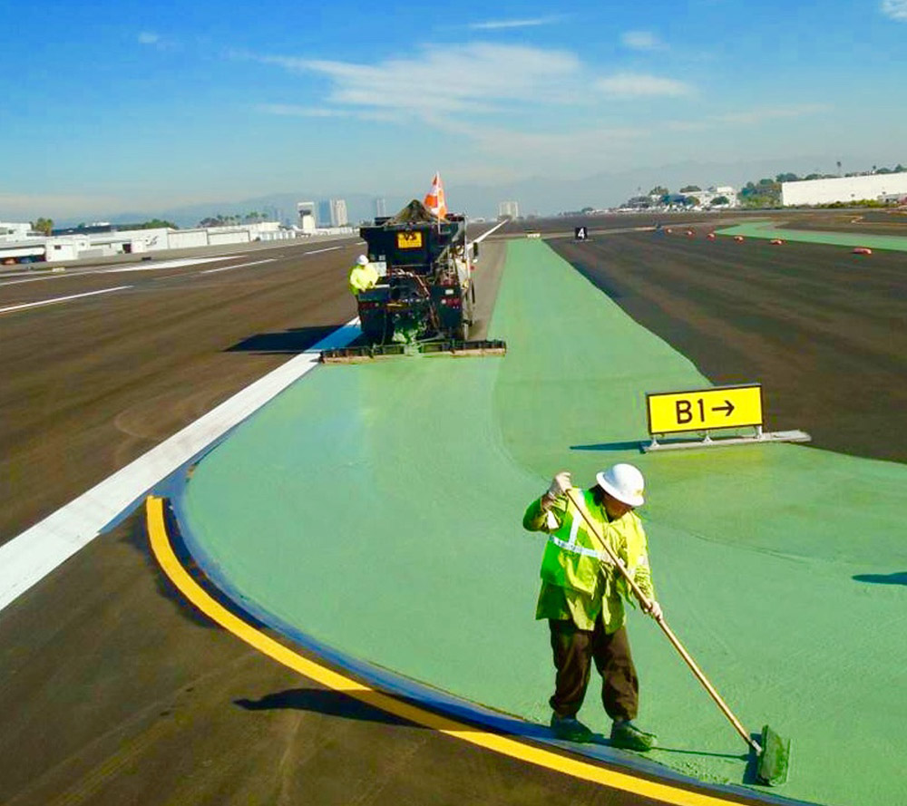 Colored Micro Surfacing Systems